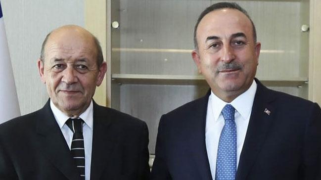 Son dakika... Fransa Dışişleri Bakanı Le Drian Türkiye'ye geliyor