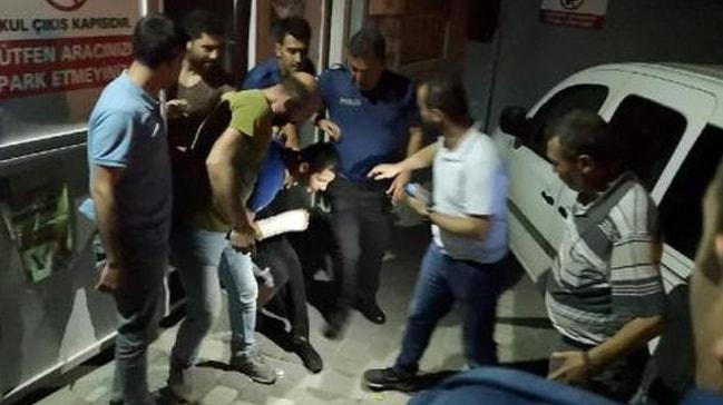 Hastaneden kaçan hırsız baba-oğul kovalamaca sonunda yakalandı