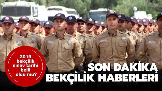 """Bekçilik sınav tarihi belli oldu mu"""" 2019 bekçilik sınav soruları"""
