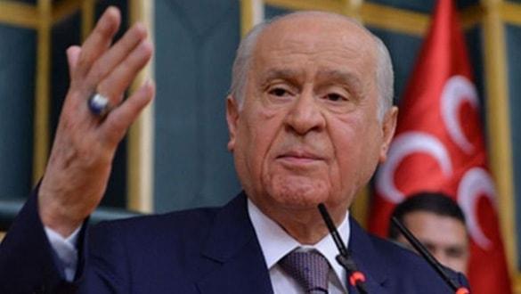 MHP lideri Bahçeli'ye22. yıl kutlaması