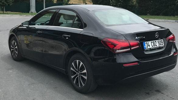Mercedes A Sedan, Araba Pazarı'na konuk oldu