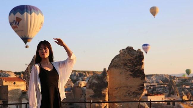 Güney Koreli turistler rotayı Türkiye'ye çevirdi