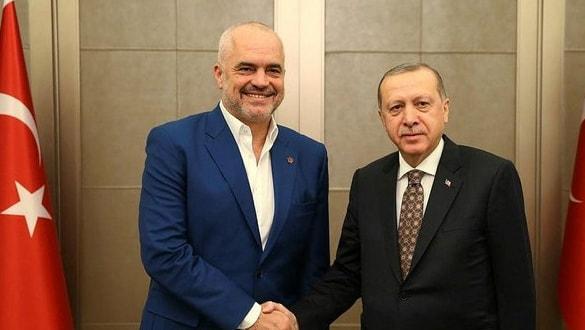 Başkan Erdoğan, Arnavutluk Başbakanı Rama'yı kabul etti