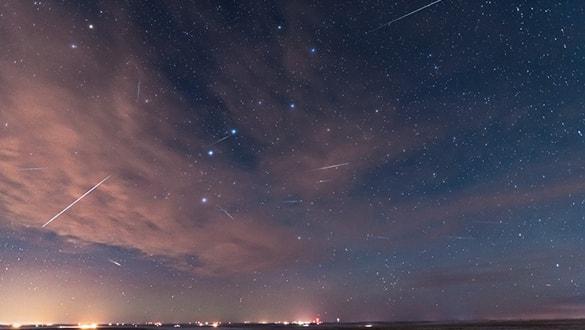 Ay ve Güneş tutulmasının ardından meteor yağmuru geliyor