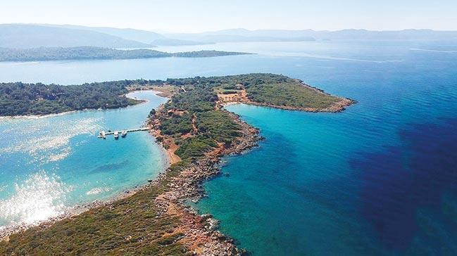 Dünyanın en eşsiz plajı Sedir Adası'nda