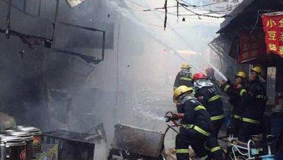 Çin'de gaz patlaması: Çok sayıda ölü ve yaralı var
