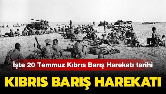 """20 Temmuz Kıbrıs Barış Harekatı nedir, neden yapıldı"""" Kıbrıs Barış Harekatı tarihi haberimizde"""