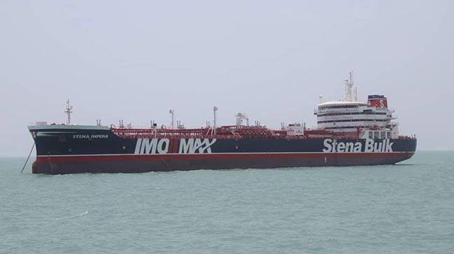 İran, İngiltere'ye ait tankere baskın anının görüntülerini yayımladı