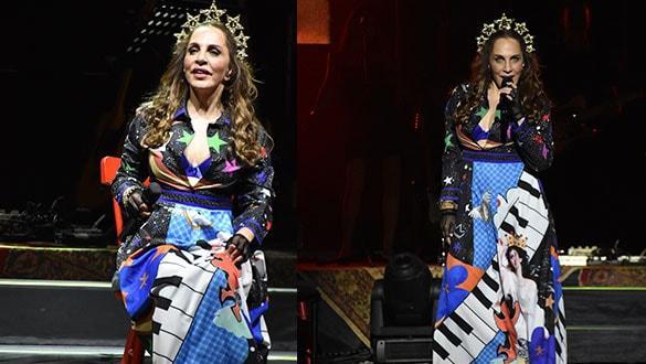 Sertab Erener konserinde unutulmaz anlar