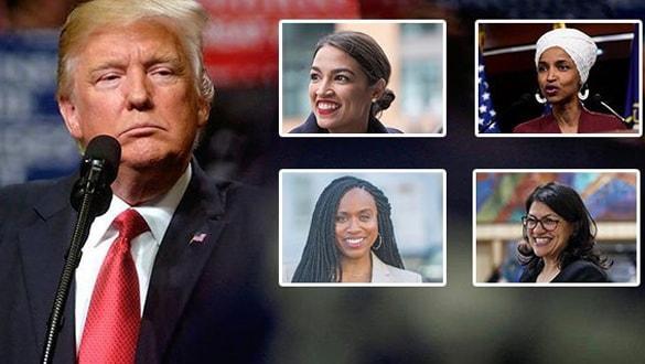 Trump, Demokrat kadın vekilleri hedef almaya devam ediyor