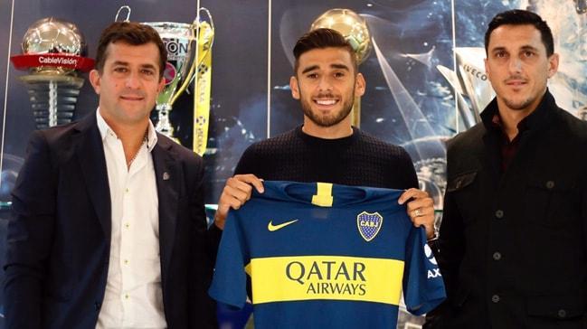 Galatasaray'dan haber bekleyen Eduardo Salvio ve Felipe Caicedo Boca Juniors'a imza attı
