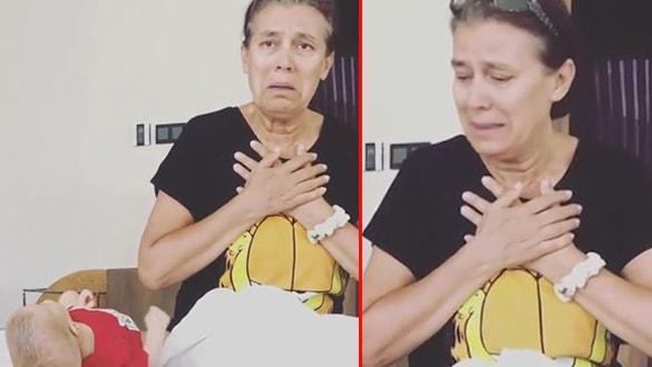 Pelin Akil ve annesinin duygusal anları! 3 aylık kızının ilk sözcüğü bu oldu