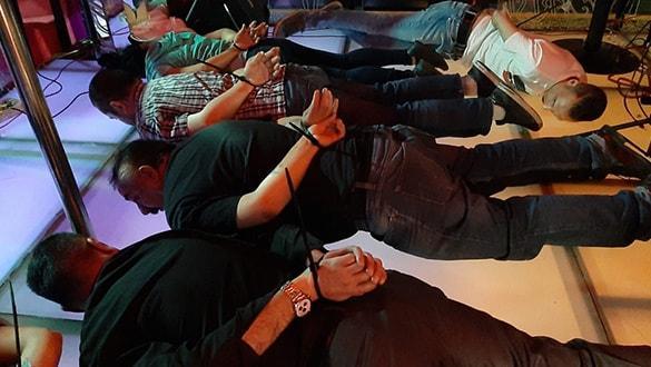 'Avcı kızlar' operasyonu: 125 kişi gözaltına alındı
