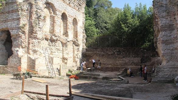 Sinop'ta yaklaşık 1500 yıllık kilise kalıntıları bulundu