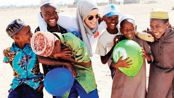 Tanzanya'da bayram sevinci yaşattı