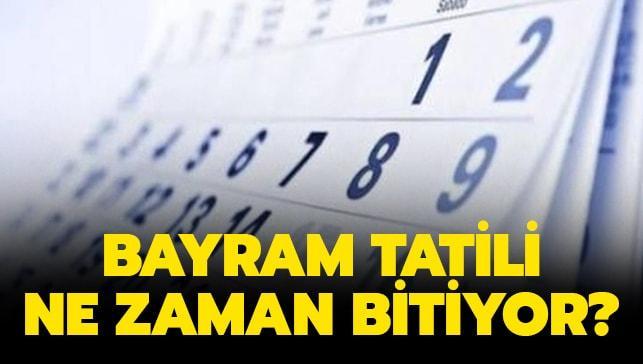 Ramazan bayram tatili ne zaman