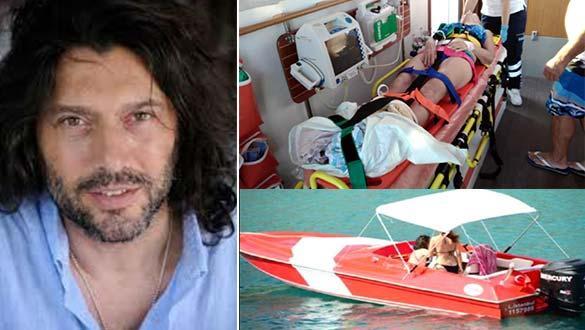 Teknesiyle çarpıp ağır yaralamıştı! Oyuncu Gökhan Arsoy konuştu