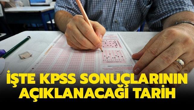 ÖSYM KPSS sonuçları için tarih geri sayım..