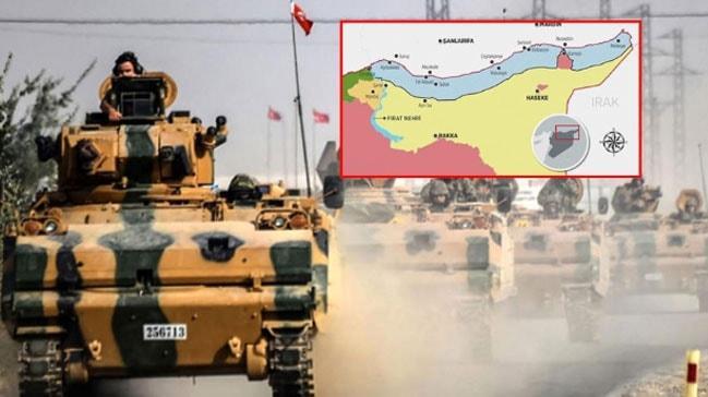 TSK Suriye'nin kuzeyinde ilk etapta 10 noktada üs kuracak