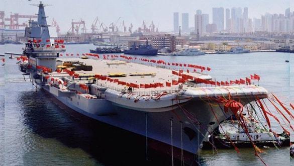 Yeni savaş gemisi 36 savaş uçağı taşıma kapasitesine sahip
