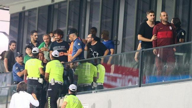 Hasan Şaş ve Necati Ateş'in karıştığı kavga Galatasaray camiasında büyük tepki gördü