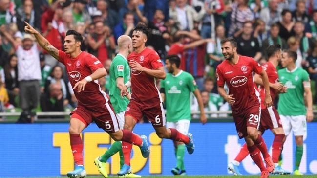 Fortuna Düsseldorf, Kaan Ayhan ve Kenan Karaman'ın gol attığı karşılaşmada Werder Bremen'i mağlup etti