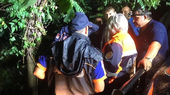 Araç baraja devrildi! 4 kişi hayatını kaybetti