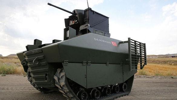 Yerli insansız kara aracı Demirhan gövde gösterisine hazır