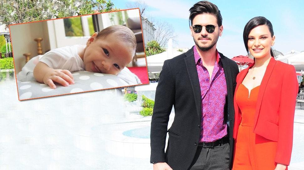 Almeda Abazi ve Tolgahan Sayışman'ın 3.5 aylık oğlu oyuncu oldu