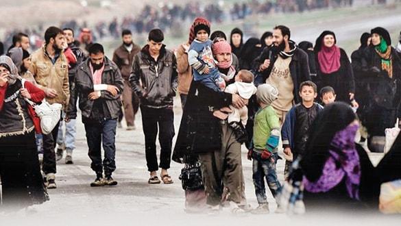 İdlib'den göç dalgasına Suriye tarafından önlem