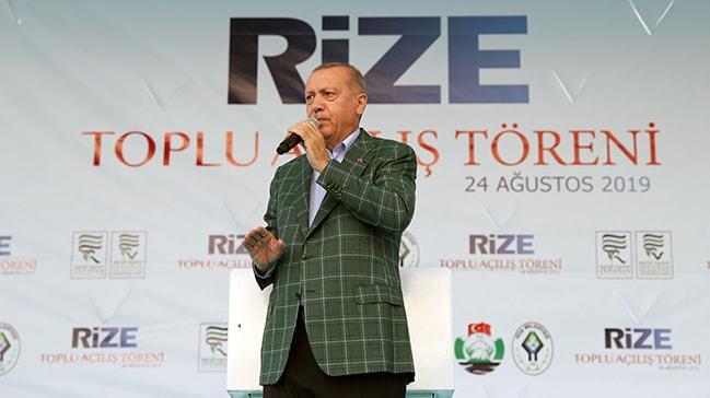 Başkan Erdoğan'dan Doğu Akdeniz mesajı: Hepsi kapımızda sıraya girecek