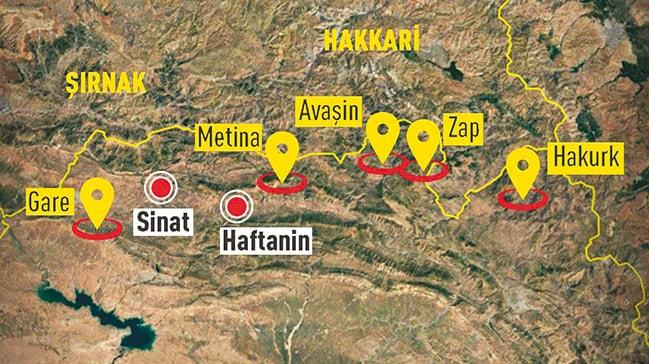 Irak'ın kuzeyindePKK'ya 3. pençe