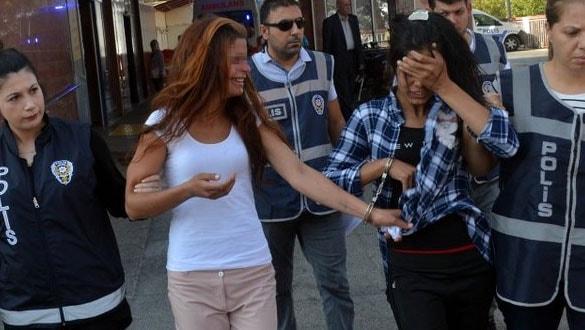 Hırsızlıktan yakalanan kadınlardan küstah tavır!