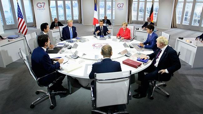 G7 Zirvesi'nde sürpriz isim! Trump 'Engelleyemem' dedi