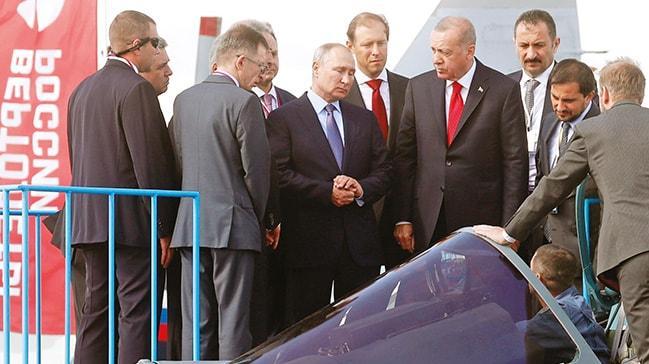 SU-57 uçakları içinilk resmi temas