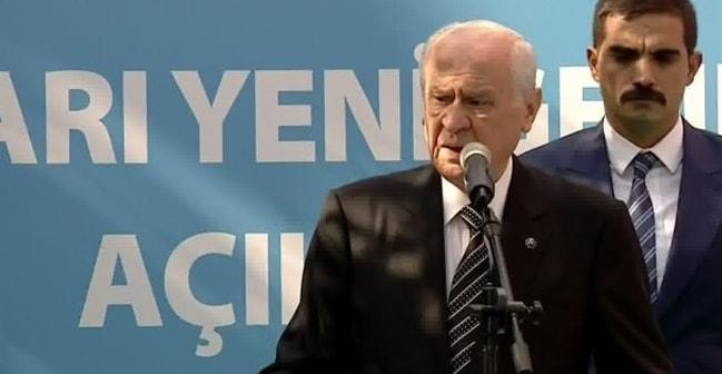MHP lideri Devlet Bahçeli Ülkü Ocakları töreninde konuştu