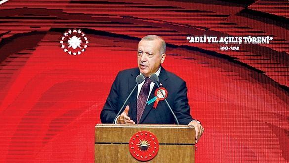 Cumhurbaşkanı devletintüm kurumlarının başıdır