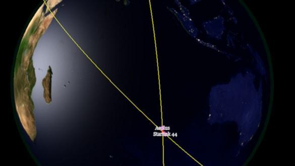 Avrupa Uzay Ajansý'nýn uydusu, çarpýþmamak için ilk kez manevra yaptý
