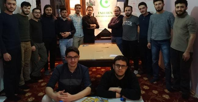 Enderun Mühendislik Kulübü TEKNOFEST'e hazırlanıyor