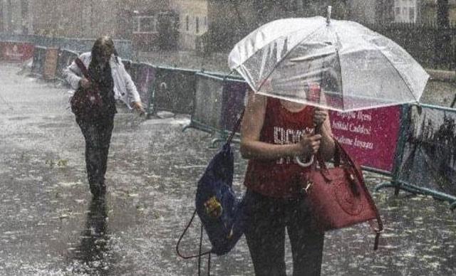 Meteoroloji'den 13 kente sağanak yağış uyarısı