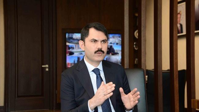 Çevre ve Şehircilik Bakanı Murat Kurum'dan 'Filenin Sultanları'na tebrik