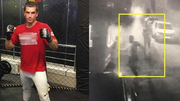 Milli sporcudan 'yan baktın' cinayeti! Görüntüler ortaya çıktı