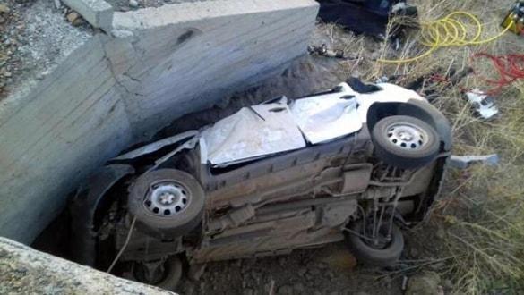 Erzurum'da feci kaza: 2'si çocuk 5 ölü