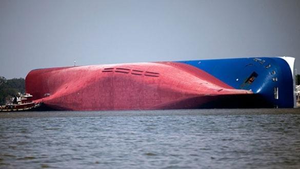 ABD'de alabora olan yük gemisiyle ilgili flaş gelişme