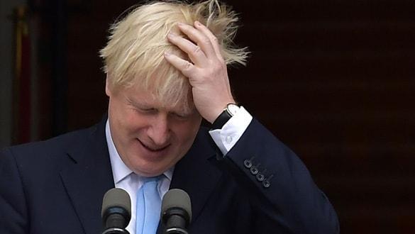 Boris Johnson yine parlamentoya takıldı!