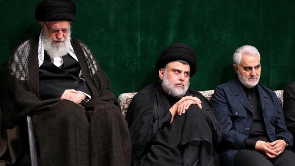Sadr, İran'da Hameney ve Süleymani ile görüldü