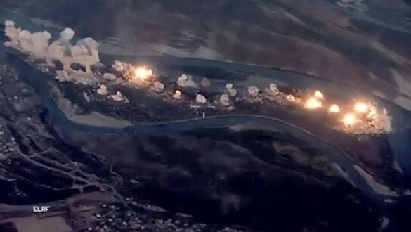 Savaş uçakları peş peşe havalandı... 36 bin kilo bomba attılar