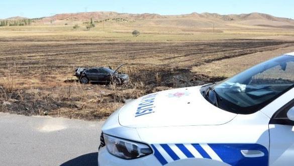 Mersin Büyükşehir Belediye Başkanı Vahap Seçer'in koruma aracı kaza yaptı