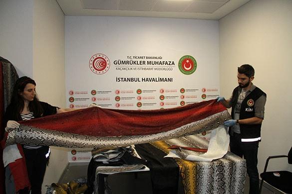 İstanbul Havalımanı'nda ele geçirildi! Fiyatı dudak uçuklatıyor
