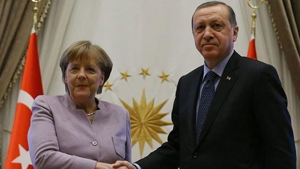 Başkan Erdoğan ve Merkel arasında kritik görüşme